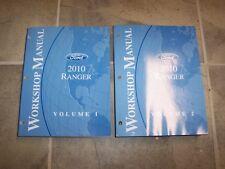 2010 Ford Ranger Truck Shop Service Repair Manual XL XLT Sport 2.3L 4.0L V6 4X4
