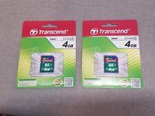MIP 2 Transcend SDHC 4gb Memory Card