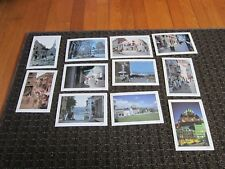 Quebec CANADA Postcard Lot UNUSED Rue Ste Anne,St Louis Royale Place  MANY SITES