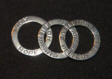 SILPADA - S1622 - Sterling Silver Hope Believe Friendship Pendants - RET