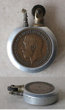 WWI ANTIQUE ENGLISH TRENCH ARMY PETROL CIGARETTE LIGHTER / RARITY / FUNCTIONAL