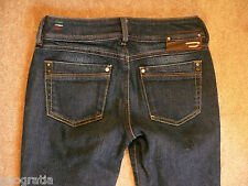Diesel Ronhar 87Z Stretch Dark Bootcut Jeans Size 25 x 31 Made in Italy
