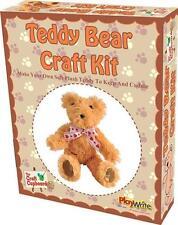 Neuf faites votre propre plush teddy bear à coudre children's craft set kit pw