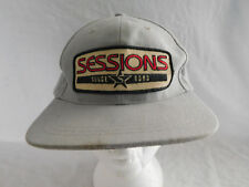 Vintage Sessions Skateboard Patch Baseball Cap Hat Snapback