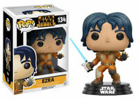 Funko Pop! Star Wars Rebels! Ezra #134 (2016 Vaulted) - RARE