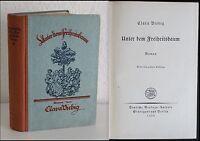 Clara Viebig- Unter dem Freiheitsbaum- Roman 1922- Erstausgabe Literatur- xz