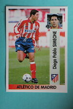 PANINI Liga 96/97 N. 9 SIMEONE ATLETICO DE MADRID MINT!!!