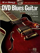 DVD Blues Guitar at a Glance with TAB Lesson Book Learn How to Play Licks Rhythm