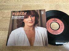 45 tours TEREZA Kesovija Yougoslavia / C'est mon pays c'est mon amour 1980 EXC+