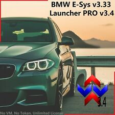 BMW E-SYS v3.33, Launcher PRO v3.4, with PSdZData. NO VM - NO EXPIRATION DATE.