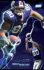 Vtg Jeremy Shockey New York Giants Poster 23x35 new in plastic NFL tight end