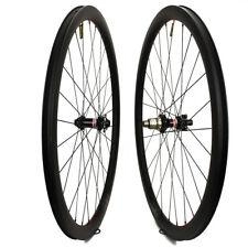 29er Carbon Fiber Road Bike Disc Brake 30mm Wheelset Chinese Bicycle Wheels 700C