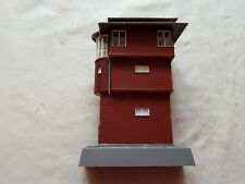 A Model Railway German Signal Box In N Gauge By Auhagen Made Unboxed