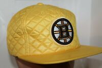 Boston Bruins Mitchell & Ness NHL Guilted 20 D Snapback,Hat,Cap           NEW
