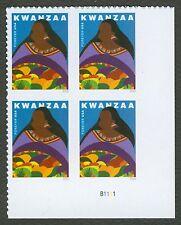 #5141 Kwanzaa, Plaque Bloc, Excellent État Any 4 =