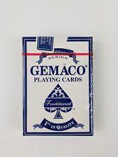 Gemaco Playing Cards Jumbo Index Poker Deck blau orig Casino Karten Grand Casino
