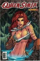 Queen Sonja  #25 NM 2011 Chasen Grieshop Variant Dynamite Nude Risque Red