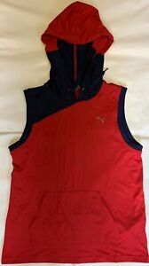 PUMA Tank Top Sleeveless with Hood Size S.Unused From Store Liquidation
