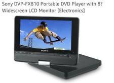 Sony 8-Inch Portable DVD Player - Black (DVP-FX810/B)