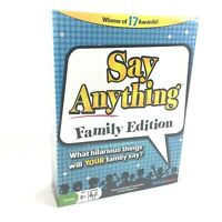Say Anything Family Edition Game, North Star Games, 3-6 Players,  NEW Sealed