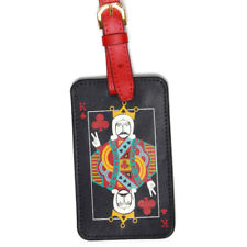 JONATHAN ADLER Mid Century Modern King of Spades Travel Luggage Tag