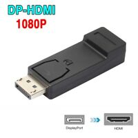 Converter Male To Female DisplayPort DP Display Port To HDMI Adapter For PC