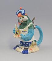 9941897 Porzellan Sammlerkrug Sammlerkrug Papagei als Taucher H27cm Ernst Bohne