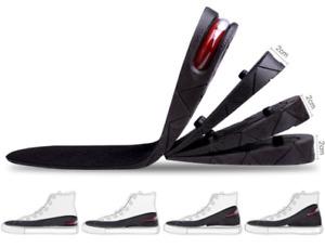 3cm 5cm 7cm 9cm Unisex Shoe Lift Height Increase Heel Insoles Insert Taller AU