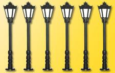 Viessmann 64706 Park Lanterns 5+1, LED Warm White, Height: 1 5/16in, N
