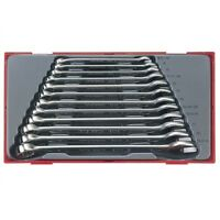 TENG TOOLS 12 PIECE COMBINATION SPANNER WRENCH SET IN CASE