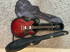 More details for gibson es-335 dot electric guitar, 2005, satin cherry