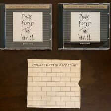 Pink Floyd The Wall Rare MFSL Gold Audiophile UltraDisc CD Box Set Nice