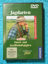 JAGD HEUTE DVD 13 Jagdarten Einzel- und Gesellschaftsjagen Kosmos Verlag NEU