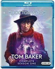 Doctor Who Tom Baker Complete Season 12 One 6 Disc Blu Ray Set 4th Dr