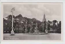 AK Genthin, Hindenburgplatz, Foto-AK 1935