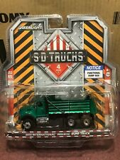 Greenlight Sd Trucks series 4 2018 International Workstar Dump Green Machine