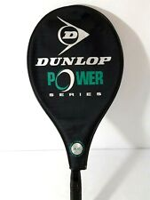 Dunlop Power Series Oversize Tennis Racket with Case Super Light No 2 4 3/8 Nice