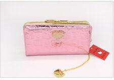 Cartera monedero rosa suave HELLO KITTY purse coin pink A1301