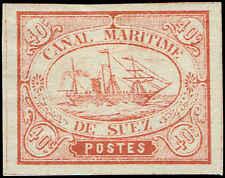 Scott # ZZZ_14 - 1868 - ' Ship '; Suez Canal Co;
