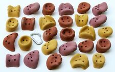 27 Large Synrock Jug screw-on Climbing Holds