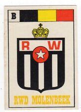 figurina SCUDETTO CALCIATORI EDIS 1977/78 numero 9/A RWD MOLENBEEK