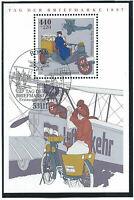 Allemagne RFA Bloc N°40 Obl (FU) 1er jour 17/09/1997 Bonn - Journée du timbre