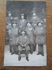 Vtg B/W Postcard Yeoman Warders of the Guard dress Uniform Beefeaters Military