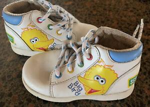 Sesame Street Big-bird toddler Unisex Shoes Size- 6 Adorable Rare Sic