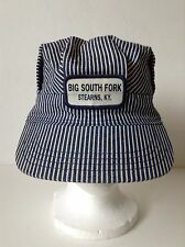 Big South Fork Stearns Kentucky Striped Railroad Engineer's Snapback Hat Cap