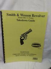 Smith & Wesson Revolver Model 686 / L Frame Takedown Guide