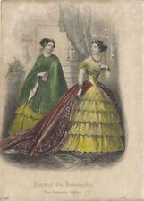 Estampes, gravures et lithographies du XIXe siècle et avant en mode