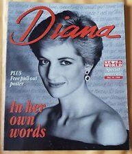 Princess Diana Special Souvenir News Of The World Magazine.