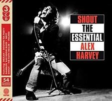 The Sensational Alex Harvey Band Shout The Essential 3 CD Set - Release 2018