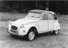 197? CITROËN 2CV ENTE PRESSEBILD FACTORY PRESS PICTURE BILD PHOTO ORIGINAL
